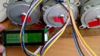 getlinkyoutube.com-контроллер шаговых двигателей ЧПУ