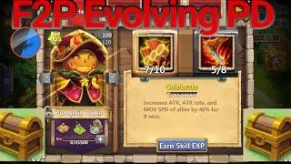 getlinkyoutube.com-Evolving Pumpkin Duke F2P Castle Clash