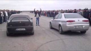 getlinkyoutube.com-Alfa Romeo 166 2.4 JTD vs 156 1.9 JTD CF3