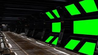 getlinkyoutube.com-Spaceship Interior with sound - green screen set B
