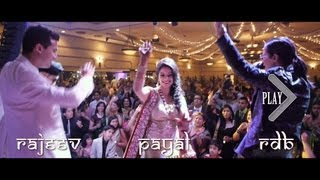 getlinkyoutube.com-The BEST Indian Wedding - Payal & Rajeev in Vancouver + RDB Bollywood Trailer