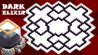getlinkyoutube.com-Clash of Clans   Town Hall 9   Dark Elixir Farming Base   Archer Queen, Barbarian King   TH9 TH 9