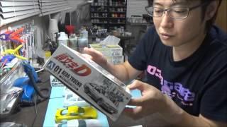 getlinkyoutube.com-イニシャルD 86 RX-7 FC FD を作る!② なべさんのプラモデル製作記