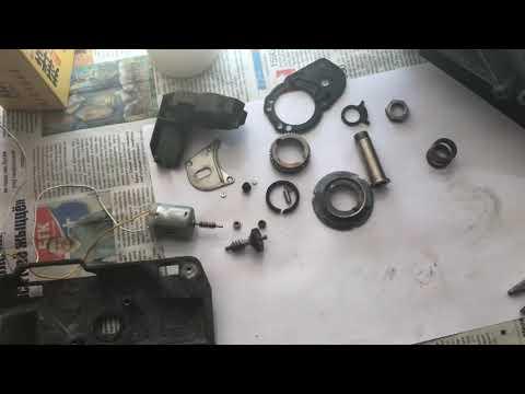 Часть 4 устройство зеркала со складыванием БМВ, ремонт лопуха, общий обзор