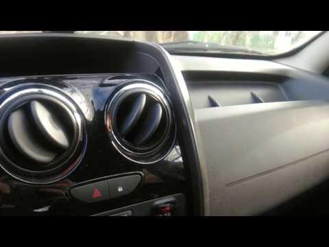 Renault Duster: устраняем скрип дефлектора и воздуховода