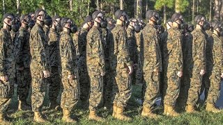 getlinkyoutube.com-United States Marine Corps Recruit Training — Gas Chamber