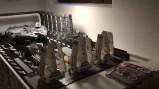 getlinkyoutube.com-LEGO Star Wars UCS Collection Roomtour