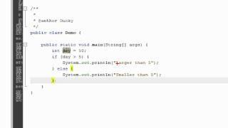 getlinkyoutube.com-Bài 10 Java cơ bản: Cấu trúc điều kiện If else
