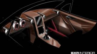 getlinkyoutube.com-Car Design Sketching and Sculpting Interior with Chavant Y2-Klay - Bailey Blade XTR - Part 70