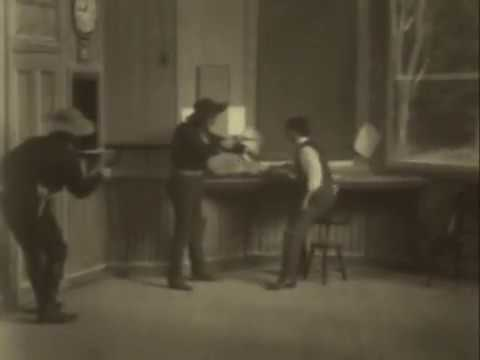 The Great Train Robbery (1903) Full COMPLETE Original Film RESTORED