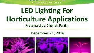 getlinkyoutube.com-MaxLite Webinars: LED Lighting For Horticulture Applications - December 21, 2016