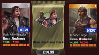 getlinkyoutube.com-WWE Immortals (iOS/Android) OPENING DEAN AMBROSE PACK Lets play Gameplay Walkthrough