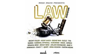 Law Riddim Mix ▶ DEC 2017▶  Bounty Killer,Kiprich,Spragga,Beenie Man &More (Misik Muzik) Djeasy