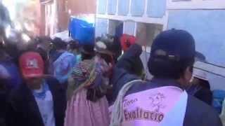 Moho Puno Peru torero Festividad del Señor de la Exaltacion 2014