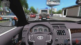 getlinkyoutube.com-City Car Driving - Toyota Camry V50