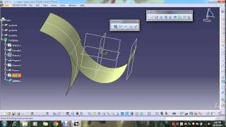 getlinkyoutube.com-catia sweep surface complete tutorial
