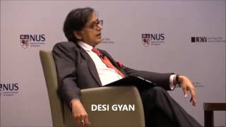 getlinkyoutube.com-Dr.Tharoor views on raising of Balochistan issue by India !