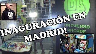 getlinkyoutube.com-Inaguración de Universo Arcade en Madrid - Entrevista a Kike Ortiz y visita a la tienda!