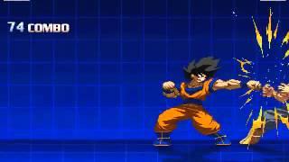 getlinkyoutube.com-Hyper Dragon Ball Z - Original Release Goku 100% Combos
