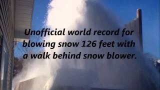 getlinkyoutube.com-V8 snowblower 126 feet.