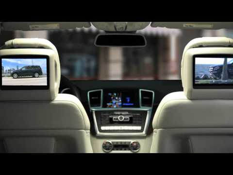 GL-Class Multimedia Features -- Mercedes-Benz Full-Size SUV