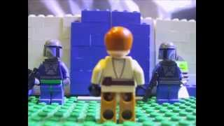 getlinkyoutube.com-LEGO Star Wars - Mandalorian Outpost Assault