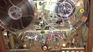 getlinkyoutube.com-Refurbishing the Brake Pads on a Sony TC-580 Open Reel Tape Recorder