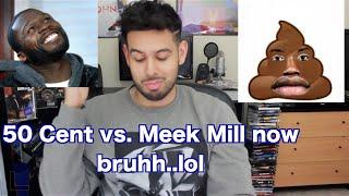 getlinkyoutube.com-Meek Mill Diss 50 Cent...Gave Em Hope (Reaction/Review)