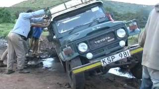 4x4 offroad adventure in Africa