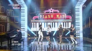 getlinkyoutube.com-[HIT] 뮤직뱅크-마마무(MAMAMOO) - 피아노맨(Piano Man).20141205