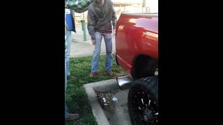 getlinkyoutube.com-Kid lets a Cummins roll coal on his face 3 of 3