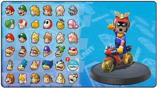 getlinkyoutube.com-Mario Kart 8 All Amiibo Suits