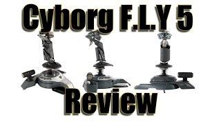 getlinkyoutube.com-REVIEW - CYBORG F.L.Y 5 JOYSTICK