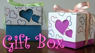 getlinkyoutube.com-DIY crafts : Hearts Gift Box - Ana | DIY Crafts