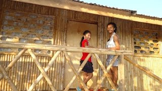 getlinkyoutube.com-our bamboo house in the philippines and how we made it in 16 days