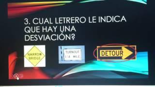 senalamientos videos para estudiar el examen