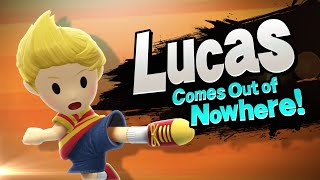 getlinkyoutube.com-【Smash Bros. for Nintendo 3DS / Wii U】Lucas Comes Out of Nowhere!