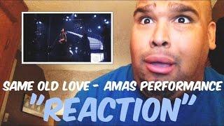getlinkyoutube.com-Selena Gomez - Same Old Love AMAs Performance 2015 [REACTION]