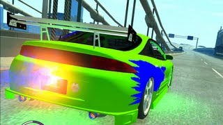 getlinkyoutube.com-MITSUBISHI ECLIPSE FAST AND FURIOUS CAR GTA4