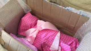 getlinkyoutube.com-Reborn Baby Box Opening Gone ALMOST Wrong! Seraphina by Elisa Marx
