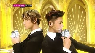 getlinkyoutube.com-[Comeback Stage] TVXQ - Something, 동방신기 - 썸씽, Music core 20140104