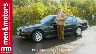 1996 bmw 7 series used car review
