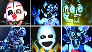 getlinkyoutube.com-Five Nights at Freddy's: Sister Location ALL JUMPSCARES