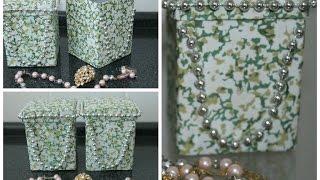 getlinkyoutube.com-Porta jóias,feito com caixa de leite♡♡♡ .