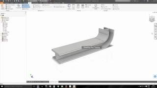 117 Autodesk Inventor Comando Bend Part