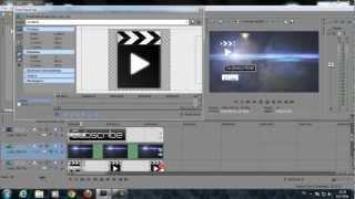 getlinkyoutube.com-วิธีการทำ ไตเติล (Outro) | Style 1 | Sony Vegas Pro