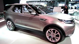 getlinkyoutube.com-2015 Land Rover Discovery Vision Concept - Exterior Walkaround - Debut at 2014 New York Auto Show