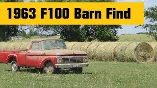 1963 F-100 Barn Find Restoration Part 1