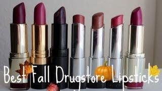 getlinkyoutube.com-Best Fall Drugstore Lipsticks