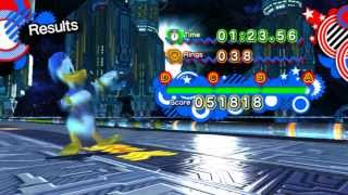 getlinkyoutube.com-Sonic Generations - Donald Duck Mod v1.0